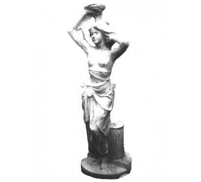 Бетонная скульптура Подсвечник арт 010