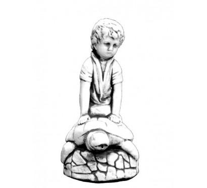 Мальчик на черепахе арт. 011