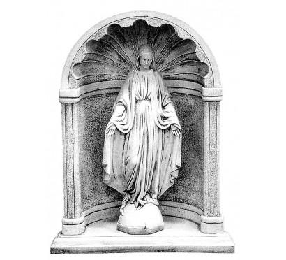 Скульптура комплект Дева Мария в арке  (016-052)