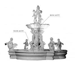 "Бассейн фонтана ""Атлантида"" арт. 034"