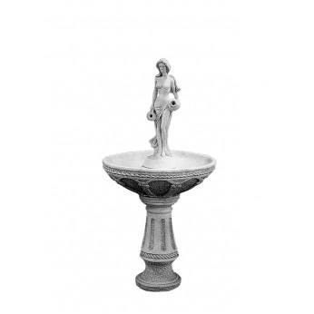 Изящный фонтан - освежит сад и облагородит ландшафт