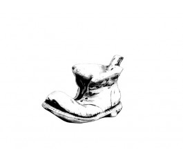 """Ваза """"Ботинок малый"""" (165)"""