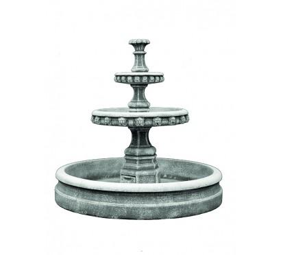 комплект фонтана  (2015) с бассейном  (2013)