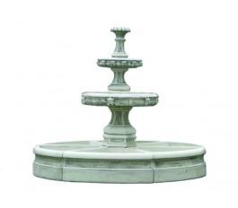 Комплект фонтана  (2016) с бассейном  (2014)