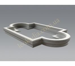 Прямоугольно-радиальный бассейн фонтана 2023