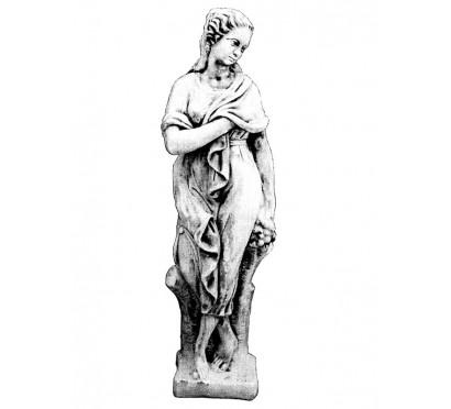 Скульптура Женщина с накидкой арт 264