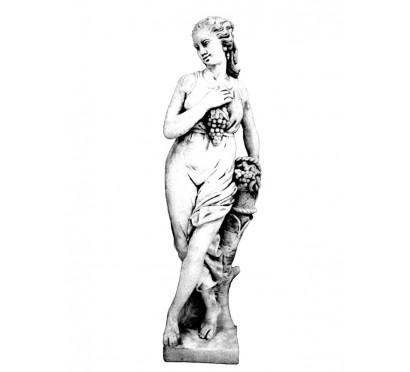 Скульптура Женщина с виноградной гроздью  (271)