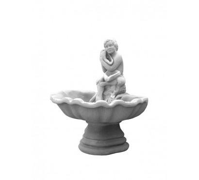 Фонтан одноярусный Мальчик с ракушкой  (762)