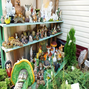 Выбор садовых фигур