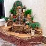 Декоративный фонтан - дизайнерское решение для украшения помещения