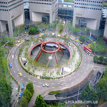 Сингапурcкий фонтан богатства