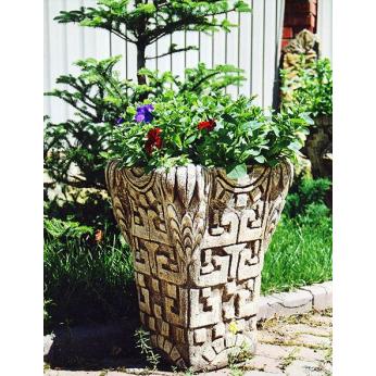 Оригинальные бетонные вазы и цветочницы