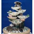 Искусственный фонтан в интерьере