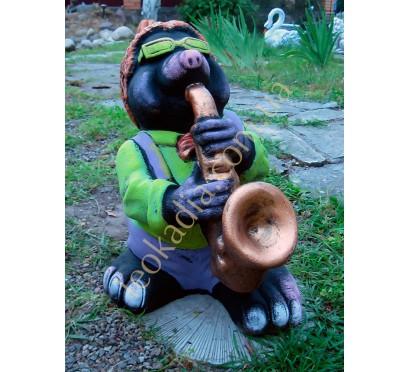 Крот с саксофоном