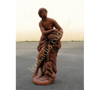 """Скульптура арт. 008 """"Женщина с кувшином"""" (цвет: терракот)"""