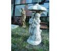 """Скульптура """"Мальчик с девочкой под зонтиком"""" арт. 012"""