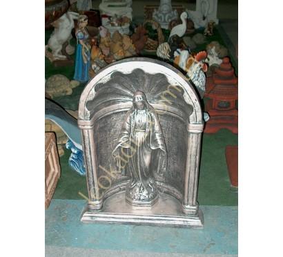 """Комплект """"Дева Мария в арке"""" арт. 016-052 (цвет- серебро)"""