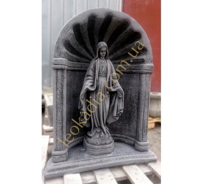 """Комплект арт. 016-052 """"Дева Мария в арке"""" (цвет- антрацит)"""