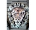 Скульптура Морда льва настенная  (070)