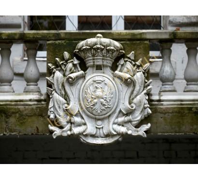 герб арт. 125 на фасаде здания