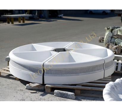 Фонтанный декоративный бассейн арт. 2014 в цвете антик