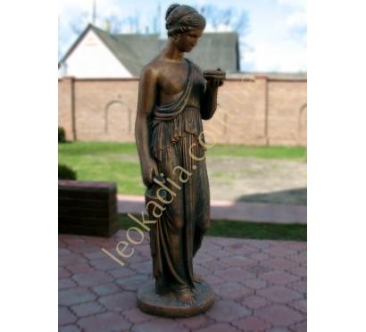 """Скульптура """"Женщина с амфорой"""" арт. 273 в бронзовом цвете"""
