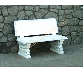 Скамейка со спинкой арт. 352