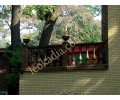 Ограждение балюстрадой балконов
