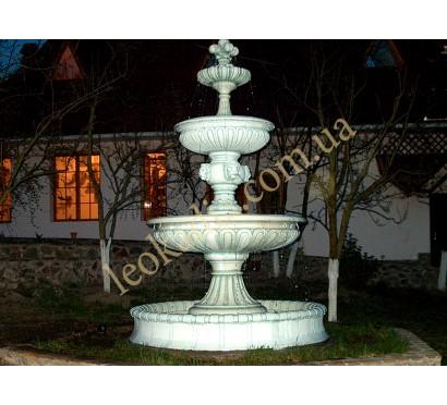 Фонтан трехъярусный с бассейном арт. 356
