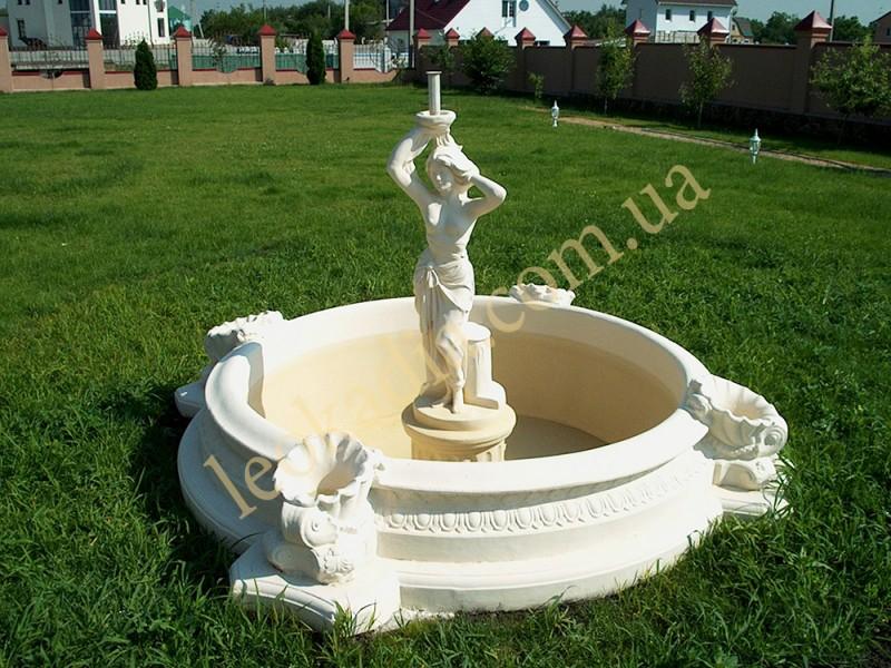 Декоративные фонтаны и бассейны