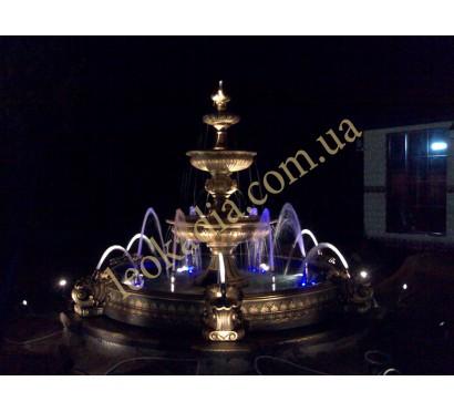 Комплектация дополнительно оборудованием фонтана с бассейном (арт. 354, арт. 032)