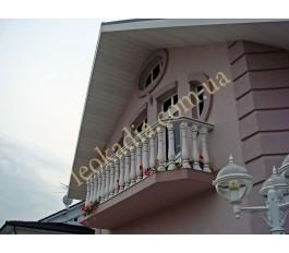 Балюстрада террасс, балкона, коттедж в с. Перемога
