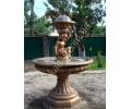 """Фонтан """"Леокадия"""" арт. 806 (мальчик с корзинкой) в бронзовом цвете"""