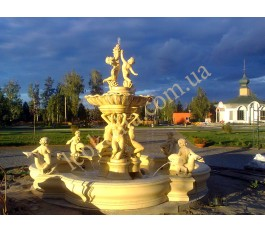 """фонтан """"Атлантида"""" арт. 033 с бассейном, индивидуальная покраска"""