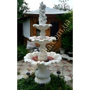 Садовый фонтанчик – настоящее украшение сада и двора