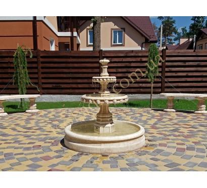 маленький фонтан с бассейном арт. 2013